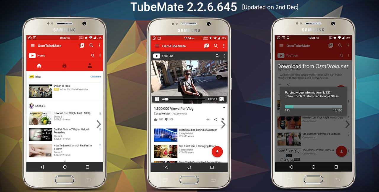 download youtube apk for 2.3